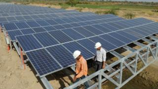 SunEdison solar panels
