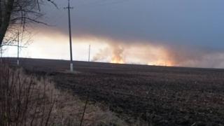 пожежа на військовому арсеналі на Харківщині