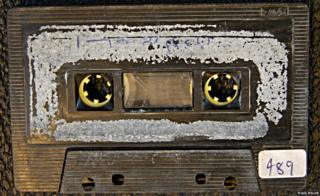 What was in Osama Bin Laden's tape collection?