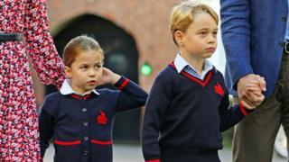 Принцеса Шарлотта і принц Джордж