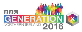 BBC Northern Ireland Generation 2016 logo