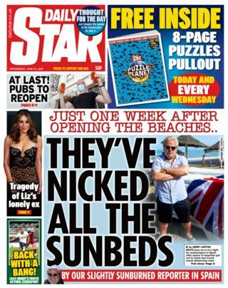 The Daily Star portada 24.06.20