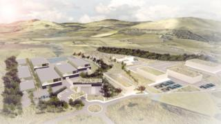 Artist impression of Pentland Studio