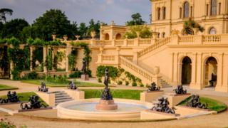 Osborne House garden terrace