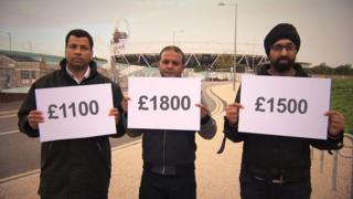 Olympics 2012 workers