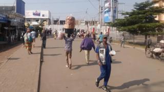 petite barrière Rubavu Gisenyi