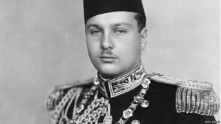 King Farouk I of Egypt (1920 - 1965)