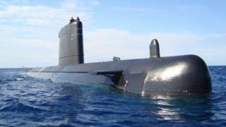 เรือดำน้ำรุ่น S-70 ของสเปน ซึ่งสเปนหวังจะพัฒนาเรือดำน้ำรุ่นใหม่
