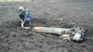 снаряд в Балаклії