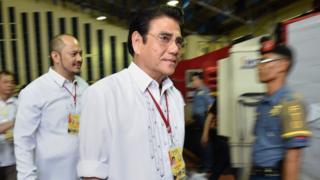 File photo: Tanauan mayor Antonio Halili, 18 July 2016