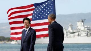 Shinzo Abe y Barack Obama