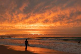 healthy fod for babies A surfer waits to paddle out at Maroubra beach in Sydney, Australia