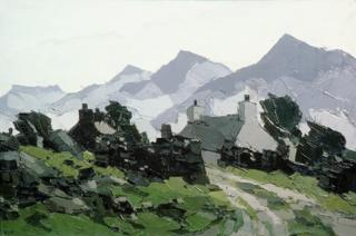 Above Carneddi by Sir Kyffin Williams