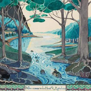 JRR Tolkien artwork on display for first time