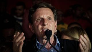 Rio de Janeiro's newly elected Mayor, Marcelo Crivella October 2016