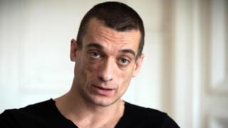 Петр Павленский (14 февраля 2020 года)