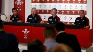 Welsh coaches announce their world cup squad