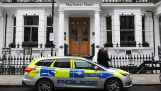 The Mayflower Hotel in Kensington