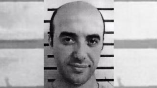 Redoine Faid en su foto de ficha policial publicada en la web de Interpol