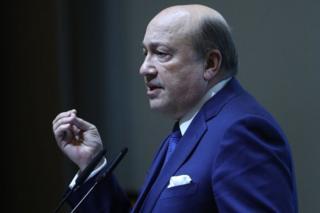 Former Russian Foreign Minister Igor Ivanov,