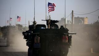 tanque de Estados Unidos en Siria