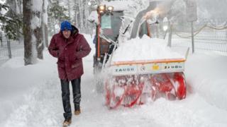 Davos snowplough
