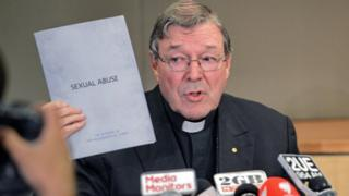 Australia's most senior Catholic Cardinal George Pell