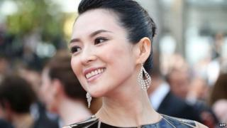 Chinese actress Zhang Ziyi actress pictured in 2014