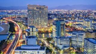 المدينة الأكثر تطورا في اليابان
