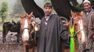 Gulam Rasool, Kashmiri muslim