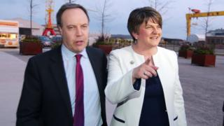 Nigel Dodds and Arlene Foster