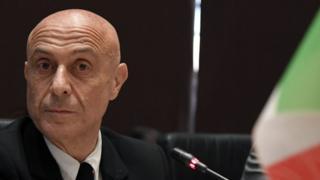 İtalya İçişleri Bakanı Marco Minniti