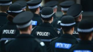 Police pass out at Tulliallan