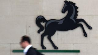 Lloyds' black horse logo