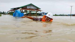 ရခိုင်ကဒုက္ခသည်စခန်းတွေမှာလည်း ရေတွေကြီးခဲ့