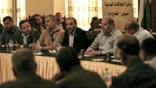 اجتماع لمسؤولين من حماس مع فصائل فلسطينية في غزة