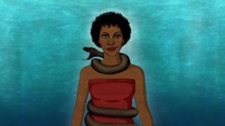 Evil goddess
