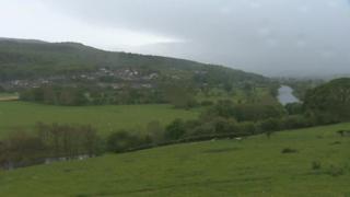 Cefn gwlad, De Clwyd