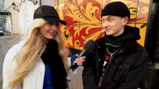 Chuma Vecherinka chatting to a Russian hypebeast on YouTube channel Louis Vagon