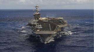 Bình Nhưỡng phản ứng tức giận về việc Mỹ điều tổ hợp tấn công tới khu vực Triều Tiên