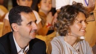 Башар Асад та Асма Асад