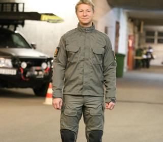 New uniform being trialled by Norwegian Police