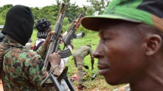 جنود متمردون في ساحل العاج