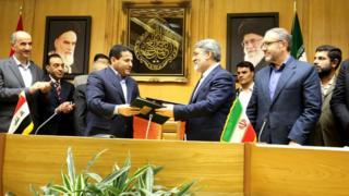 وزرای کشور ایران (راست) و عراق (چپ) برای برنامهریزی مراسم اربعین با هم دیدار کردند