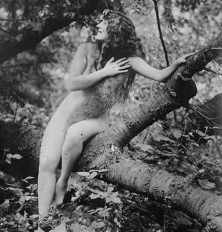 Annette Kellerman in A Daughter of the Gods