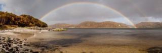 Rainbow at Arisaig