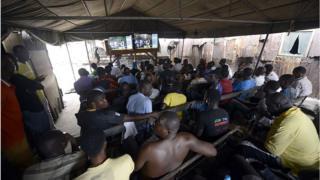 Gidan kallon kwallo a Nigeria
