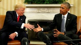 Trump ayaa ku eedeeyay maamulkii Obama dhageysiga talefoonadiisa
