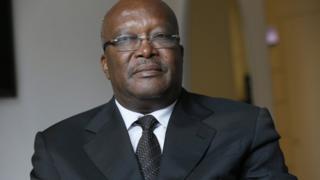 Burkina Faso's new President Roch Marc Christian Kabore