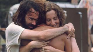 amigos en Woodstock